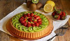 Crostata di frutta con base soffice