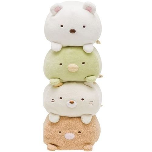 Japanese Plush Toys : Funny sumikkogurashi cream cat plush toy san japan