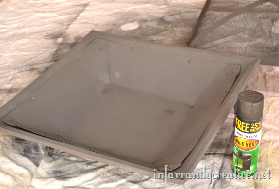 How To Restore A Fire Pit Ash Pan Fire Pit Bbq Fire Pit Tray Square Fire Pit