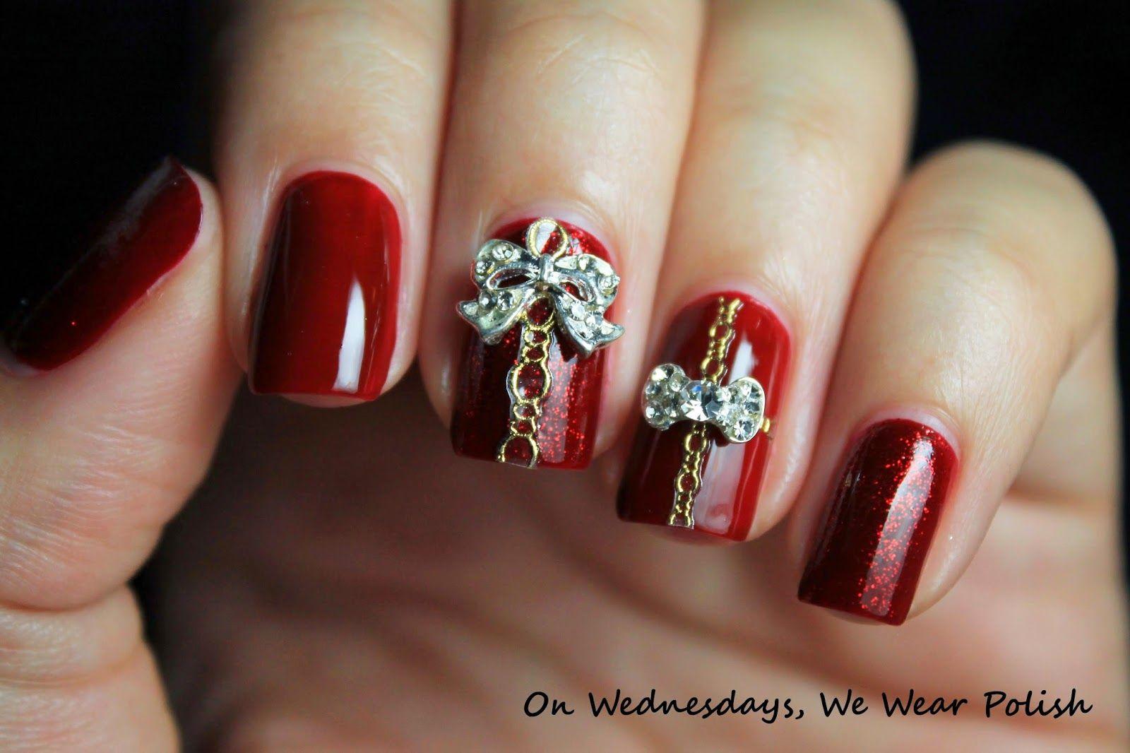 On Wednesdays, We Wear Polish : 'Tis the Season for Holiday Nail Art