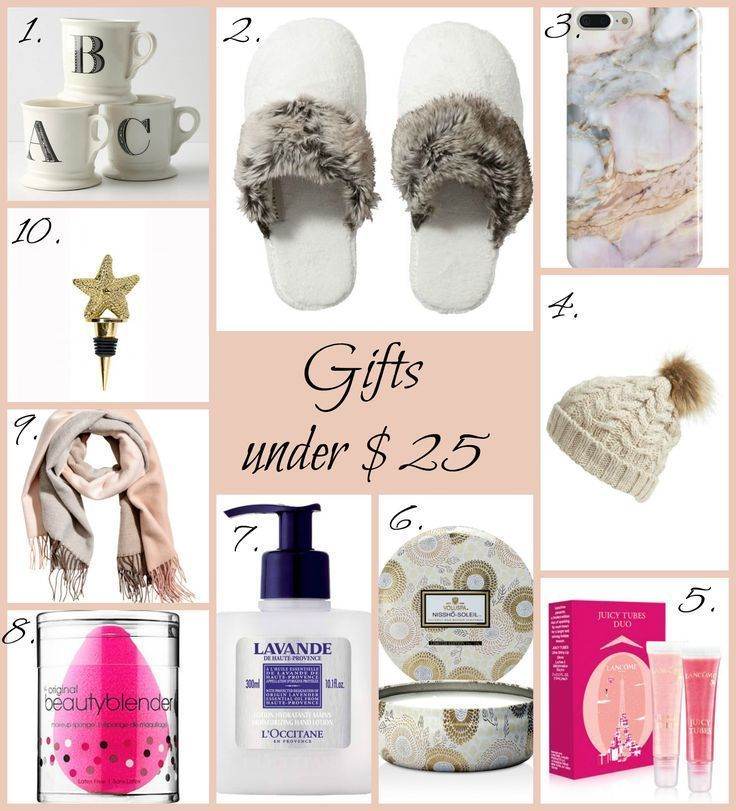 Holiday Gift Guide For Her Women Gifts Under 25 Christmas