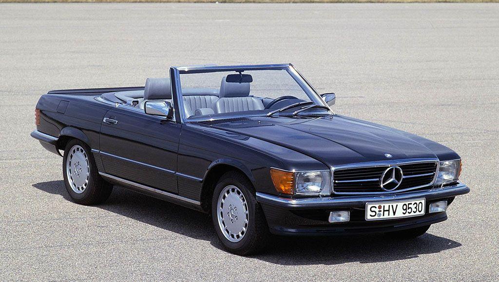 MERCEDES-BENZ 500/560SL, 1982-89 (R107) | Car Specs | Octane