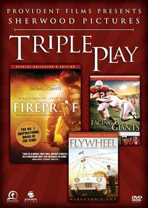 Fireproof Facing The Giants Flywheel Triple Feature Dvd Set All 3 Feature Films From Sherwood Pictures And Th Facing The Giants The Others Movie Boxset