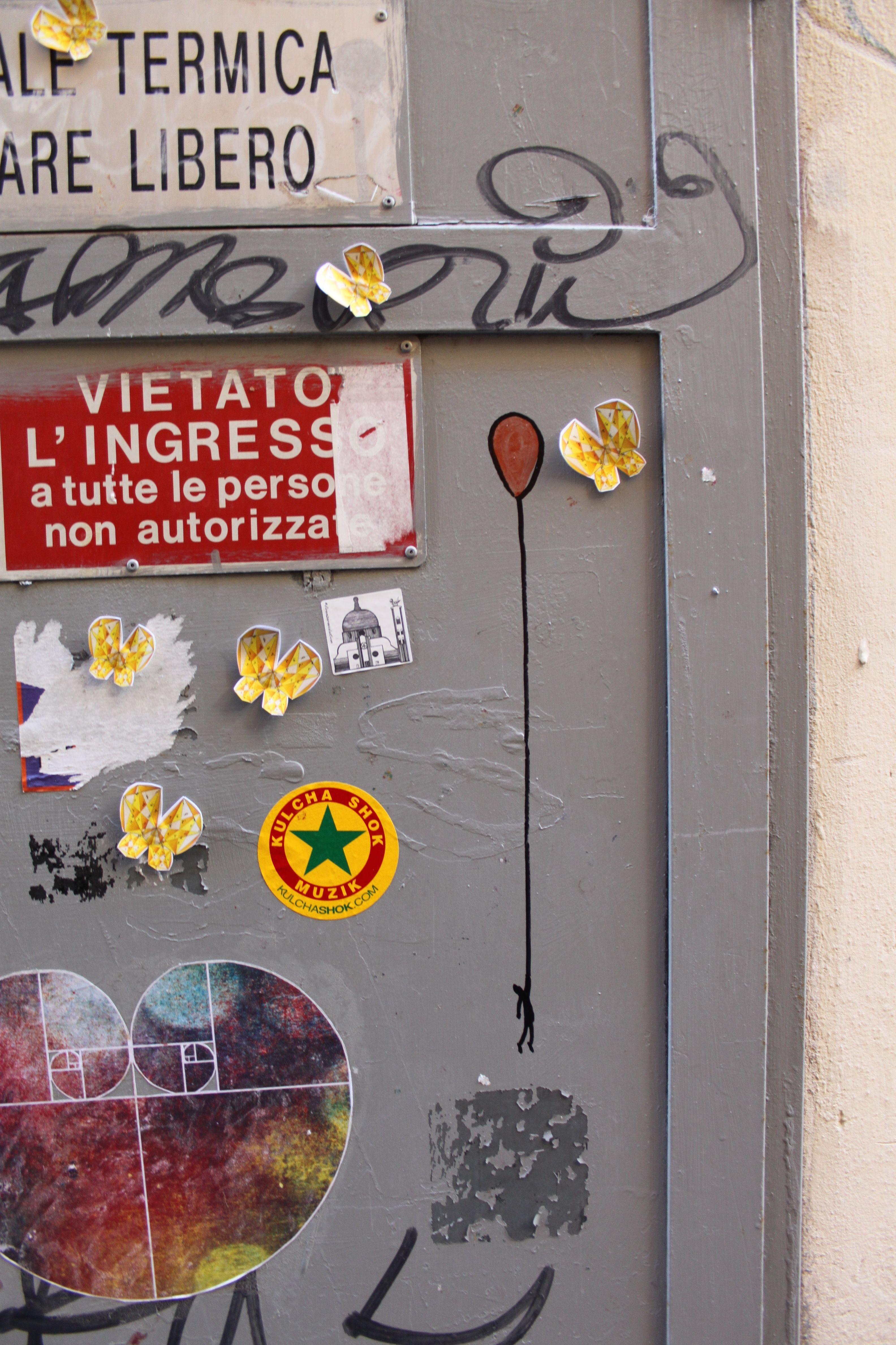 Street art in Florence #Streetart #Florence www.madeoftuscany.it