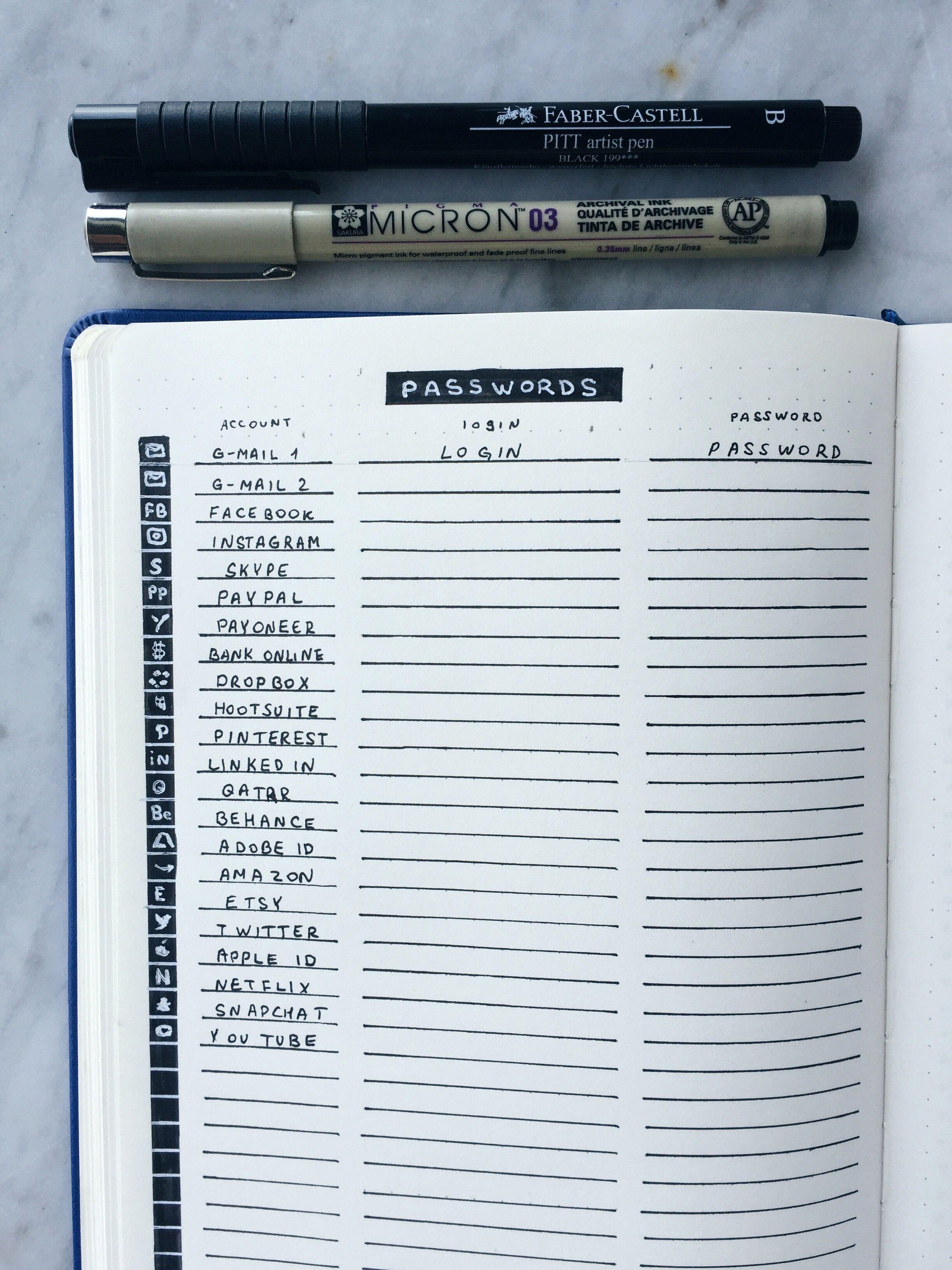 How to start bullet journaling | Bullet Journal | Bullet journal