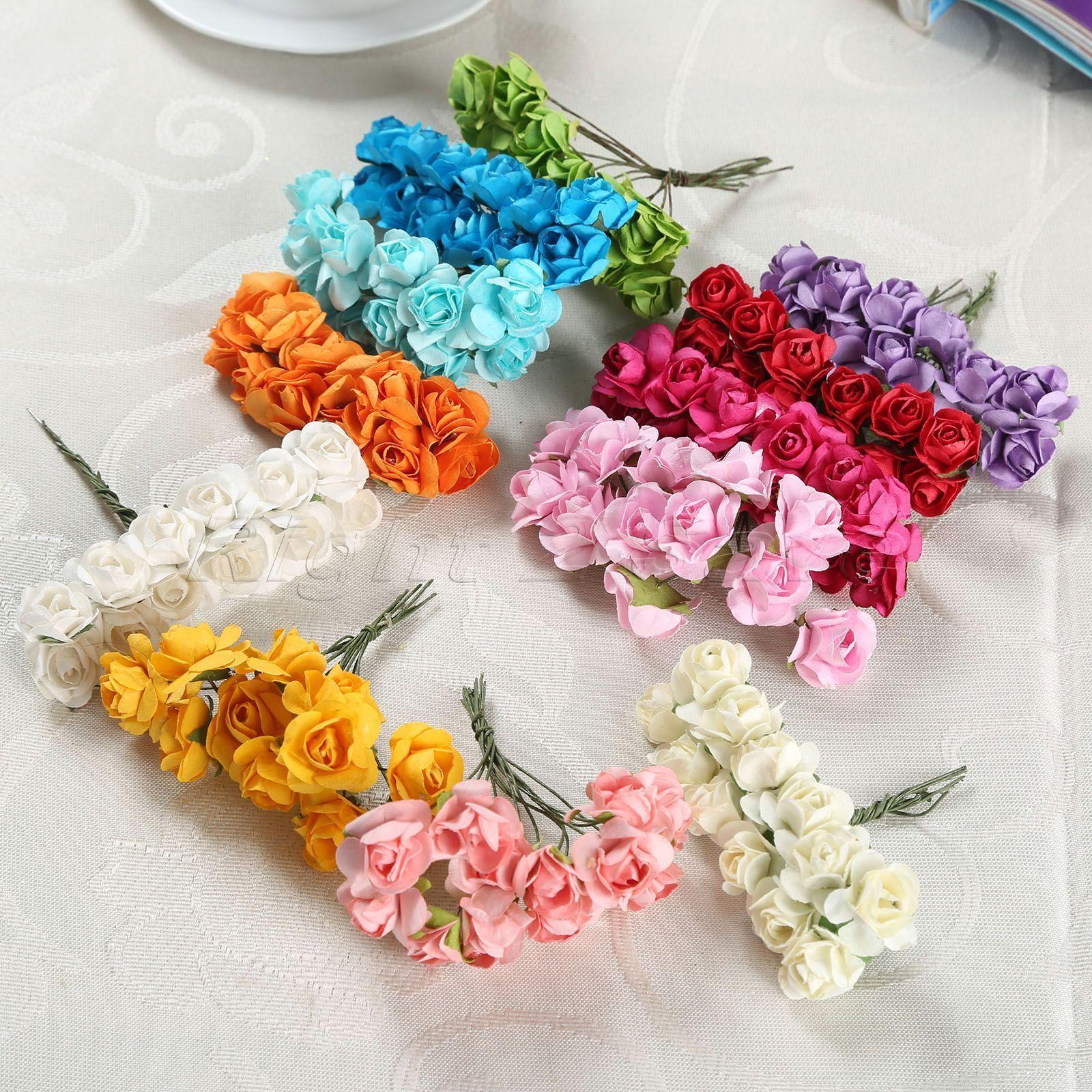 Artificial Plants Flowers Home Garden Flower Bouquet Wedding