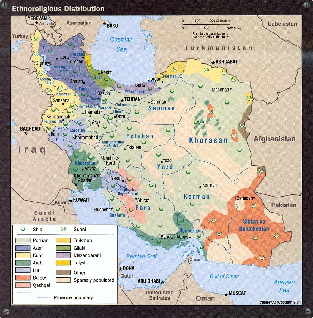 Iran Afghanistan And Central Asia Geography Map Map Geography