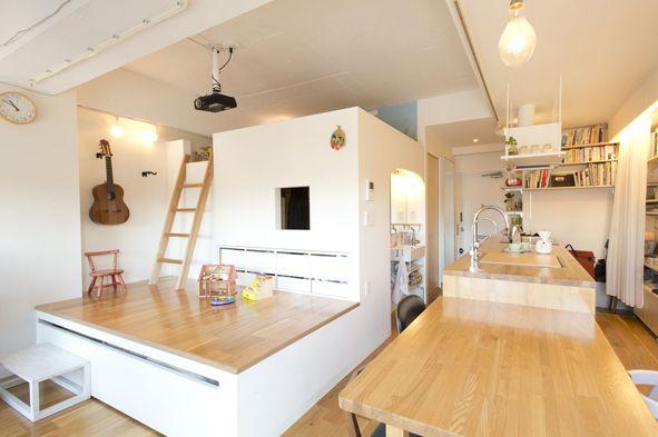 4人家族で37平米のマンション暮らしもリノベならアリ 2020