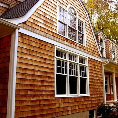 Siding Roundup 8 Options To Beautify Your Home Cedar House Siding Cedar Vinyl Siding Cedar Shingle Siding