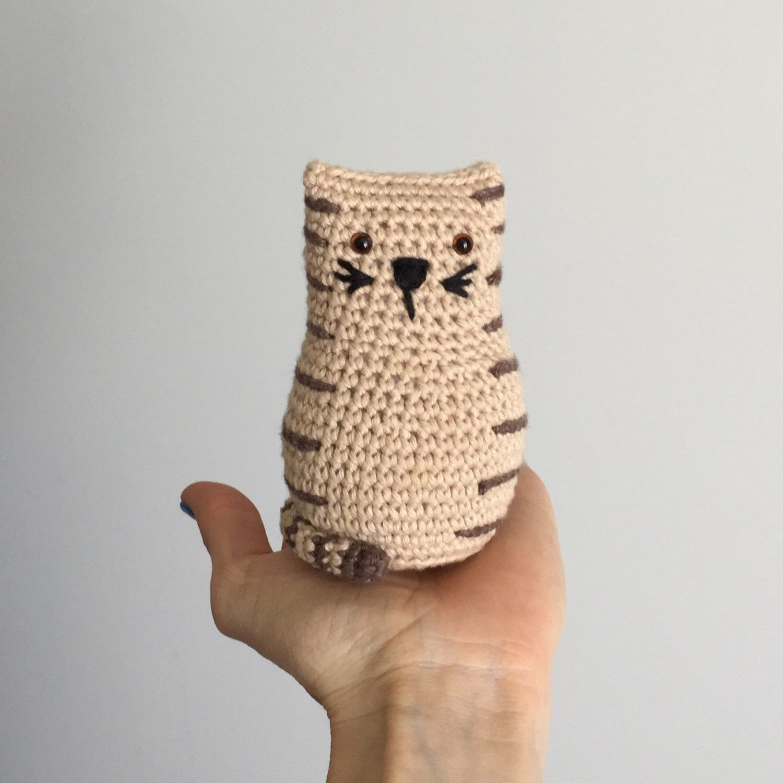 Tubby Tabby Cat Crochet Pattern | Cat crochet, Tabby cats and Crochet