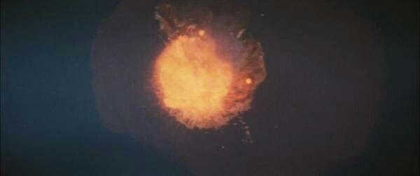 "appearance of Gidorah「from ""Gidorah, three headed monster""(1964)」"