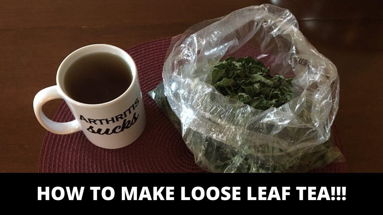 How To Make Loose Leaf Tea YouTube in 2020 Loose leaf