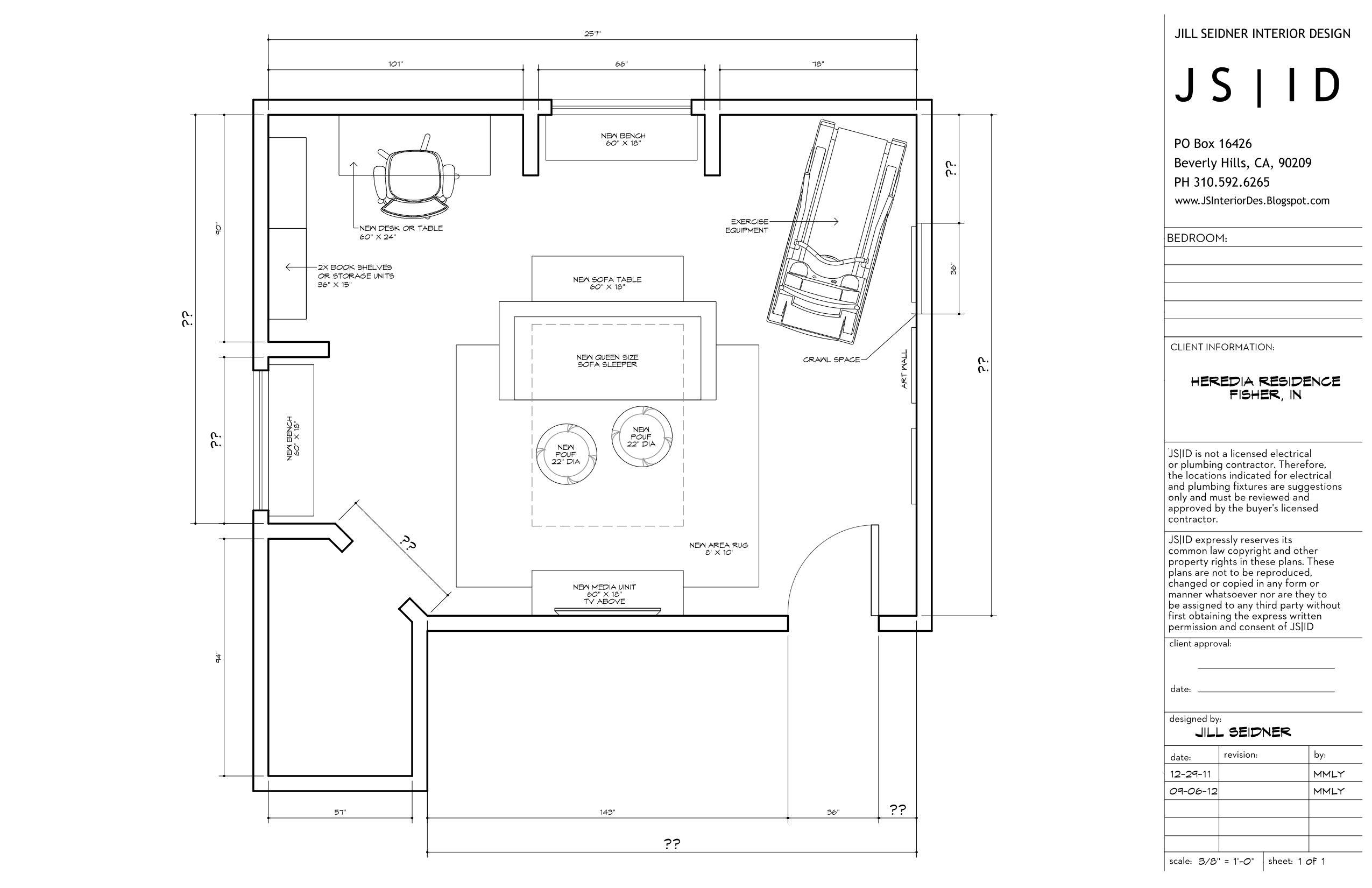 Pin on Jill Seidner Interior Design Drawings