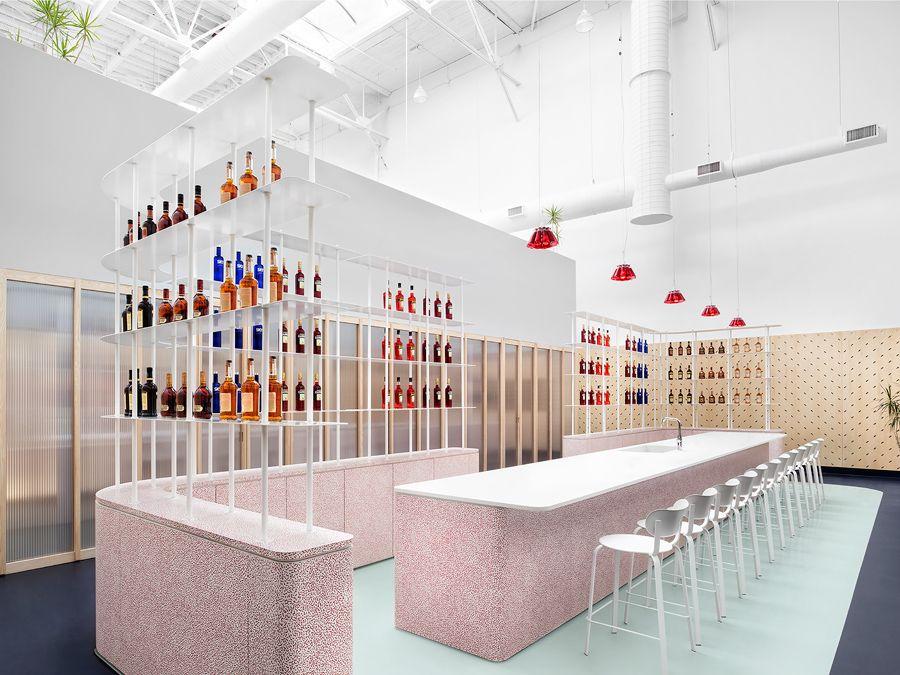 office interior design toronto. An Office Interior By I-V Invites Toronto To Savour The Flavour Of Campari - News Frameweb Design