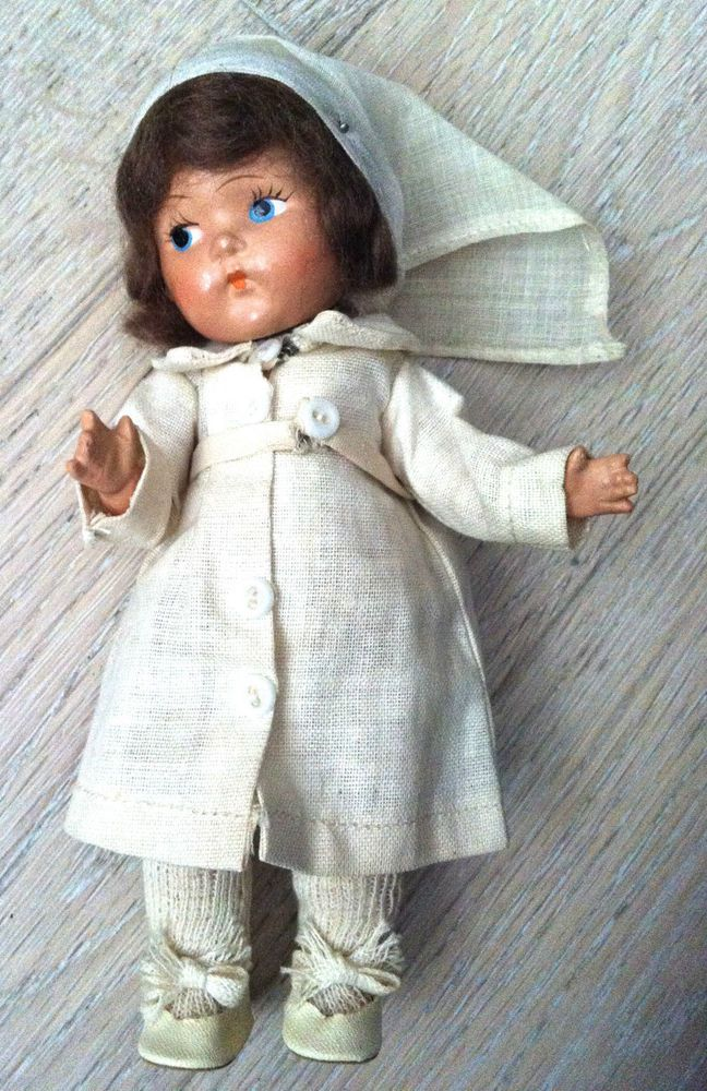 vintage early VOGUE Ginny Toddles Nurse doll
