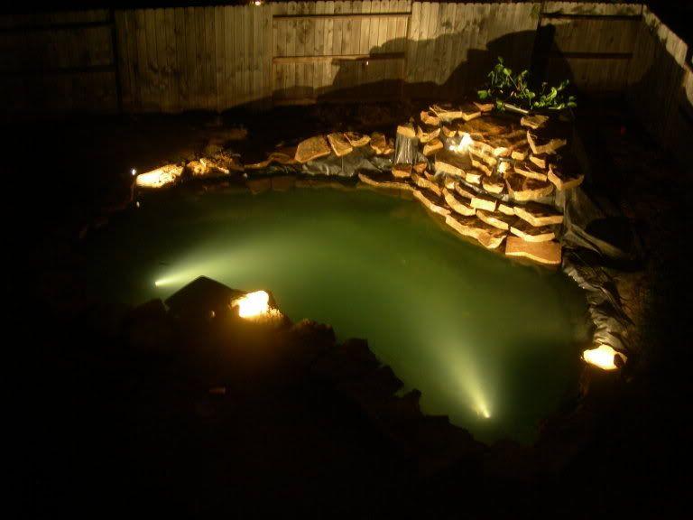 Koi Pond Lights Landscape Lighting Lawn Care