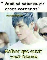 Resultado De Imagem Para Memes Bts Em Portugues Bts Memes Memes Em Portugues Memes