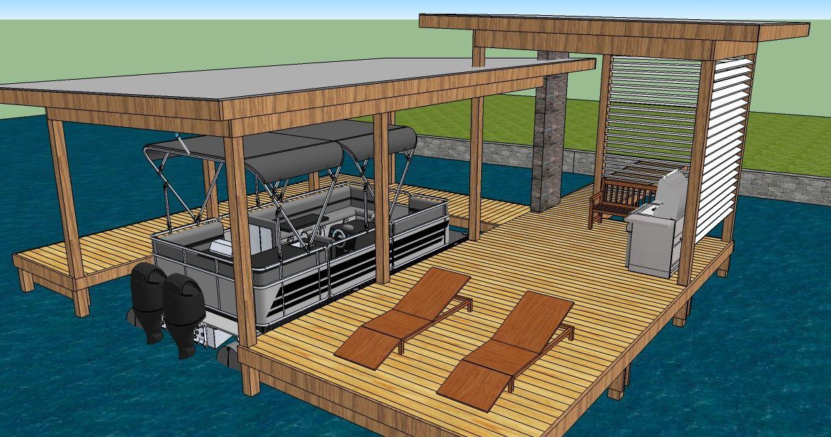 Boat Dock Designs | Horner Construction & Design LLC ...