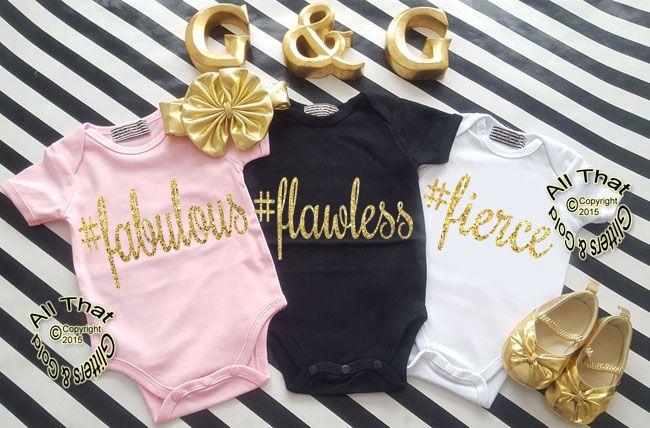 Cute Hashtag Baby Girl Onesies Or Little Girl Shirt Girl