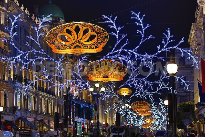 Oxford Street Weihnachtsbeleuchtung.I So Miss Being In London At Holiday Time Regent Street