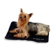 The Sharper Image Cooling Comfort Pet Mats In Black Bed Bath