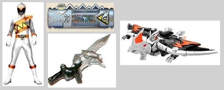 White Dino Charge Ranger By Greencosmos80 On Deviantart