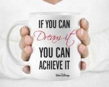 Walt Disney quote mug