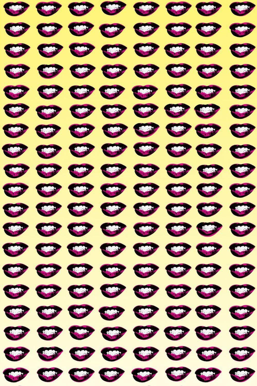 Andy Warhol Desktop Wallpaper 1365 1024 Warhol Wallpapers 45 Wallpapers Adorable Wallpapers Lip Wallpaper Lips Warhol