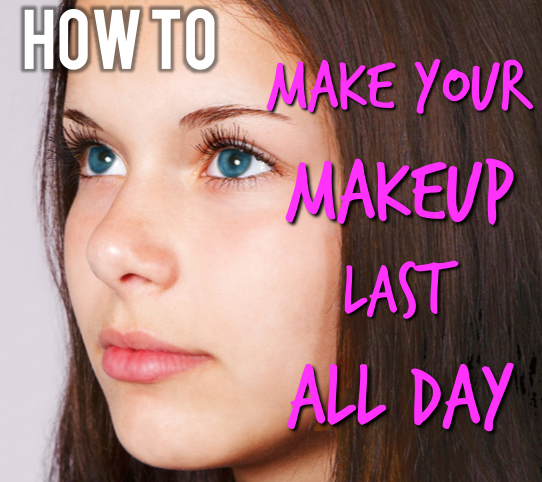 How to make your makeup last ALL day long! It's super fast and easy to apply!
