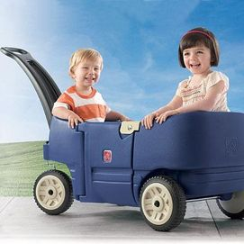 Step 2 Wagon For Two Plus! Lana's bday present from her teta is on it's way!