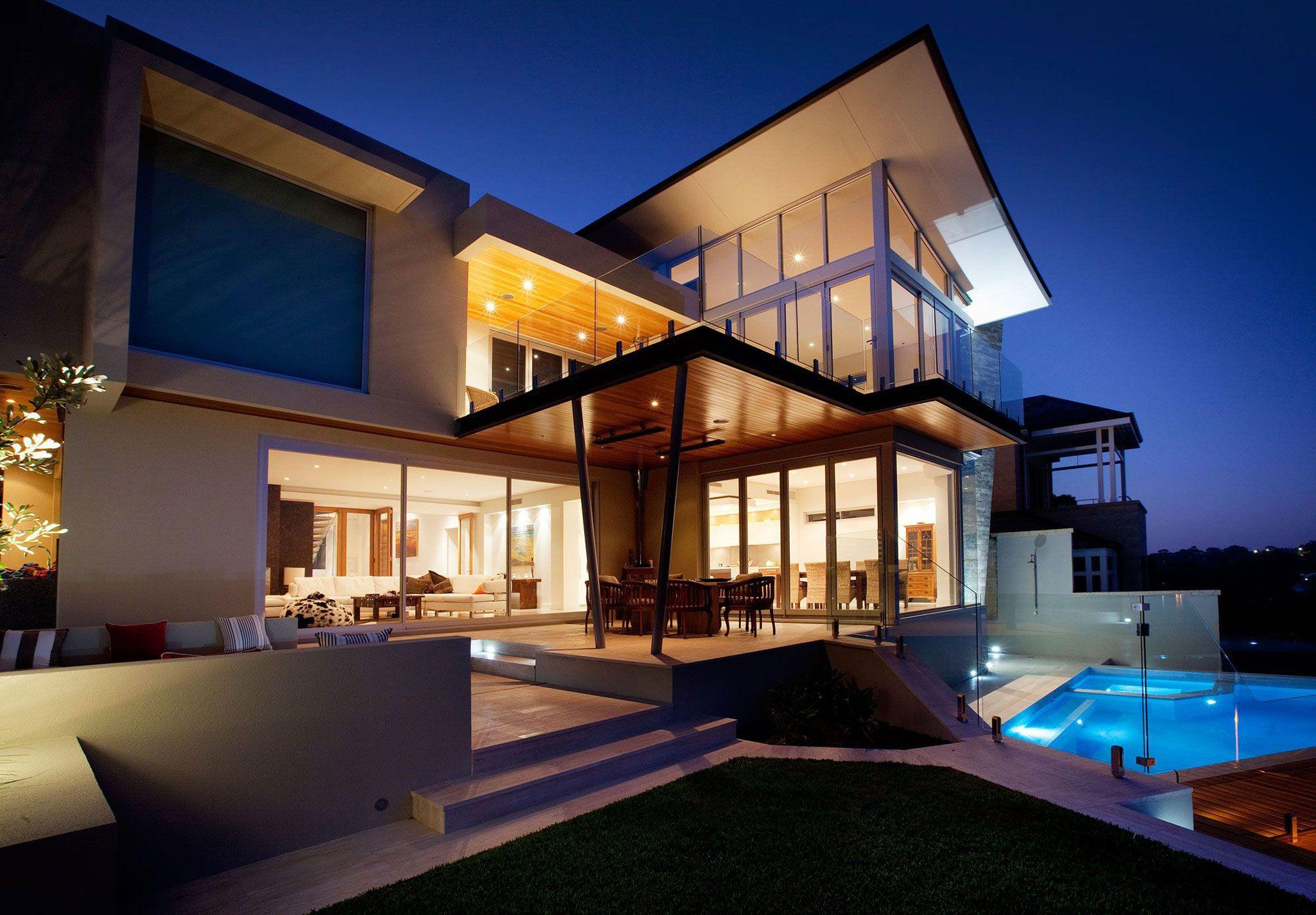 дизайн двора частного дома фото современных дворов: 15 тыс ...