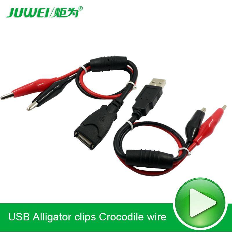 USB krokodilklemmen Krokodil draht Männlichen/buchse auf USB ...