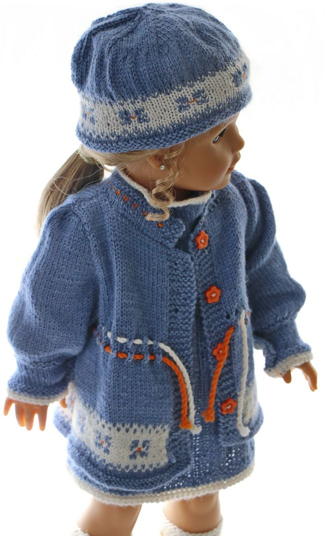 Dolls Clothes Knitting Patterns To Download Handcrafts Pinterest