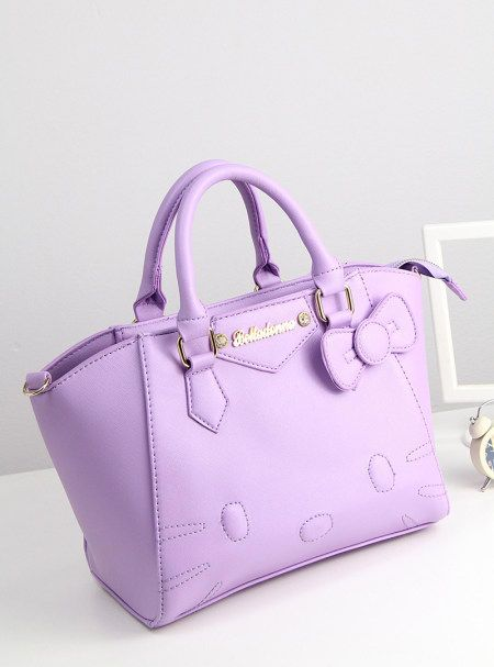 f2f912db9e63 Hello Kitty Purple Handbag!