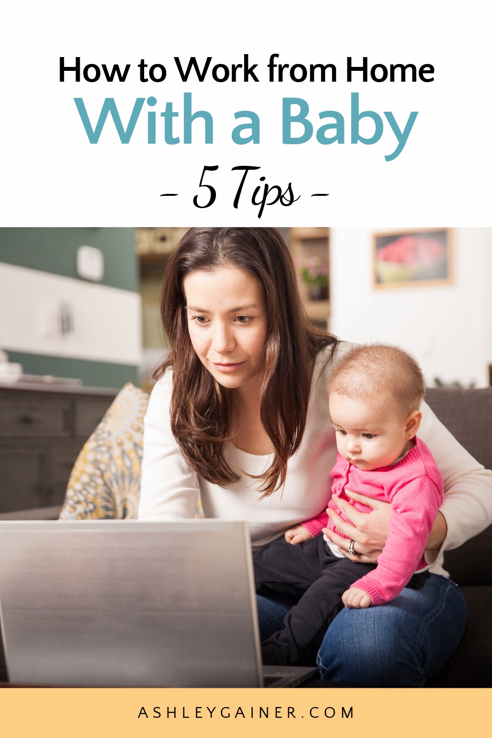 Photo of How to work from home with a baby (a survival guide from the trenches)