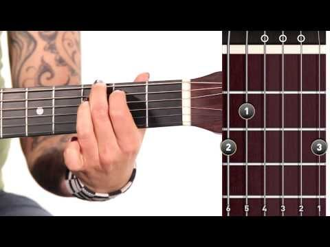 ▷ Learn Guitar: How to Play a G Major Chord - YouTube | Beginer`s ...