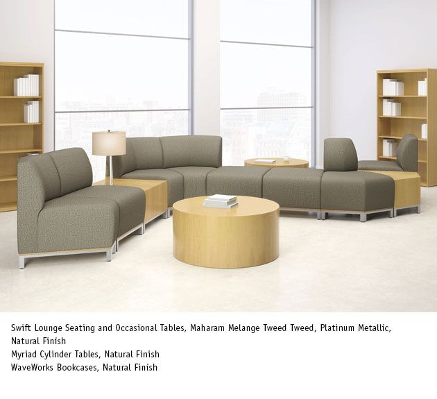 National Office Furniture Swift Lounge Seating In Collaborative Open E Area