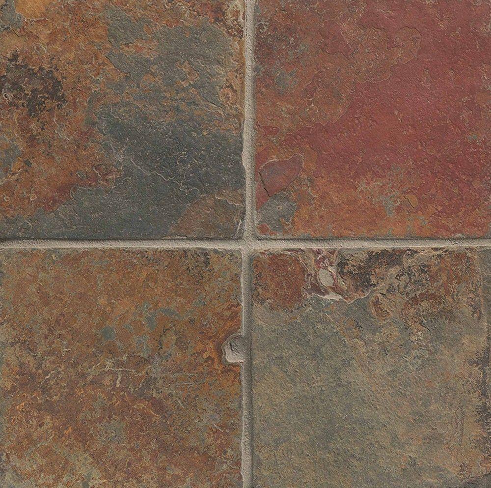 Erscotch Brown Slate Tile Sltbutsco0606t Bedrosians Stone