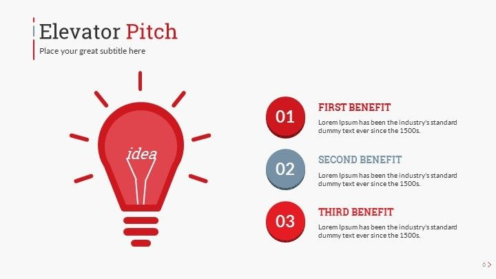 Startup Pitch Deck Leader Up Presentation Template Elevator Graphicriver Previewer
