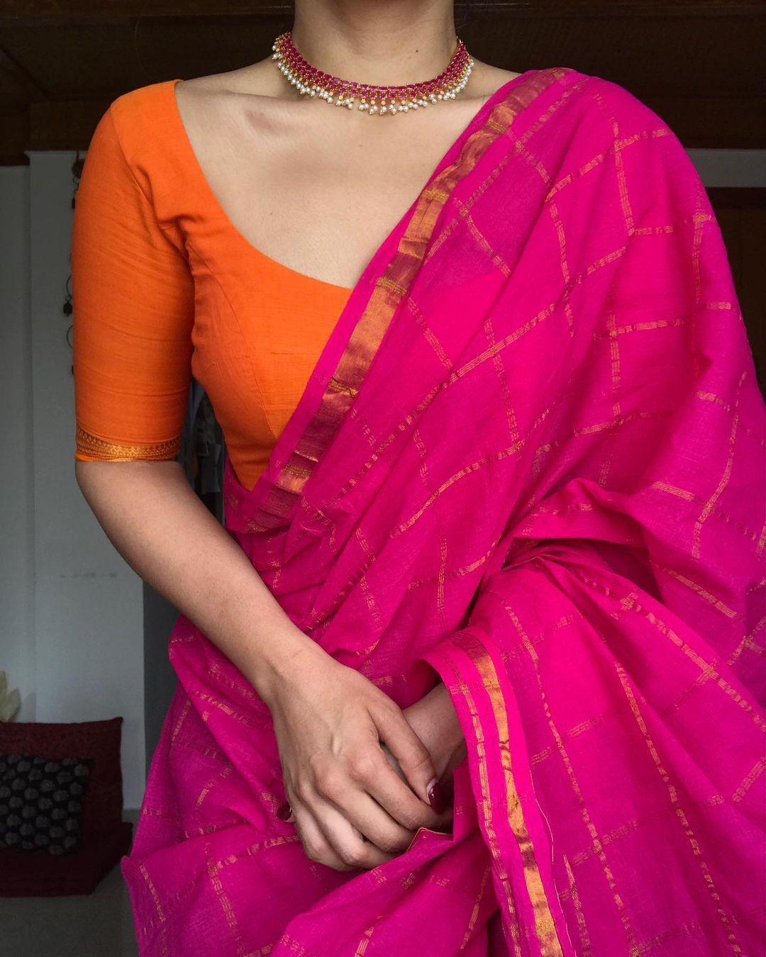 Margazhii On Instagram Madurai Kattam January Edit Available On Website Www Margazhidesigns Com J In 2021 India Clothes Ladies Tops Fashion Blouse Designs