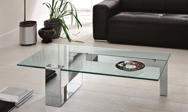 Modern Gl Coffee Table