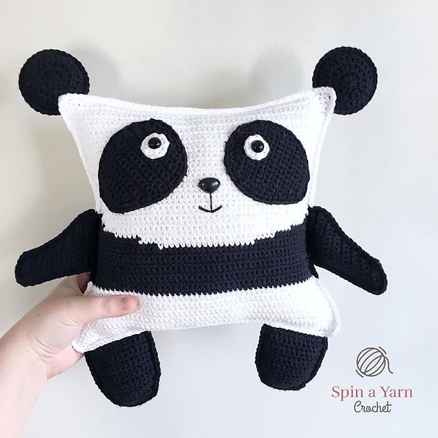 Ravelry: Pudgy Panda pattern by Spin a Yarn Crochet | Amigurumi n ...