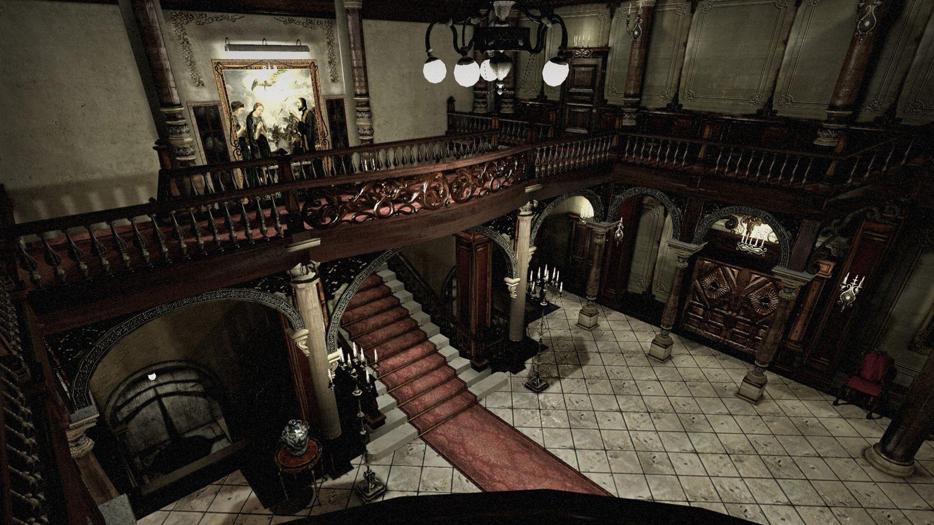 Resident Evil Umbrella Chrnicles Subway Map 3d Model.Resident Evil Remake Mansion Foyer Google Search Resident Evil