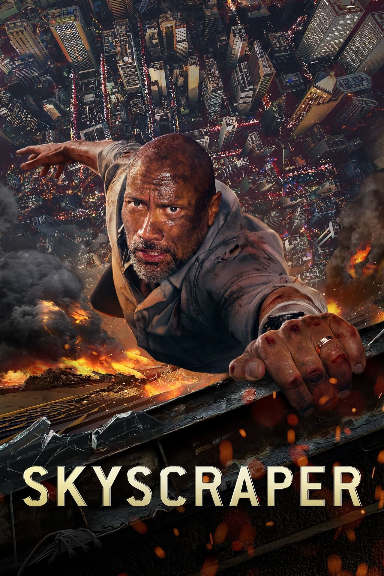 Skyscraper Movie Poster Photo 8x10 11x17 16x20 22x28 24x36 27x40 The Rock A