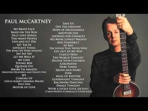 Wings/Paul McCartney - Maybe I'm Amazed (HQ) - YouTube