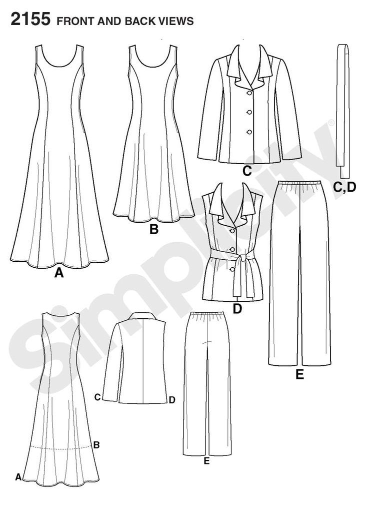 Simplicity Creative Group - Misses\' & Plus Size Sportswear ...