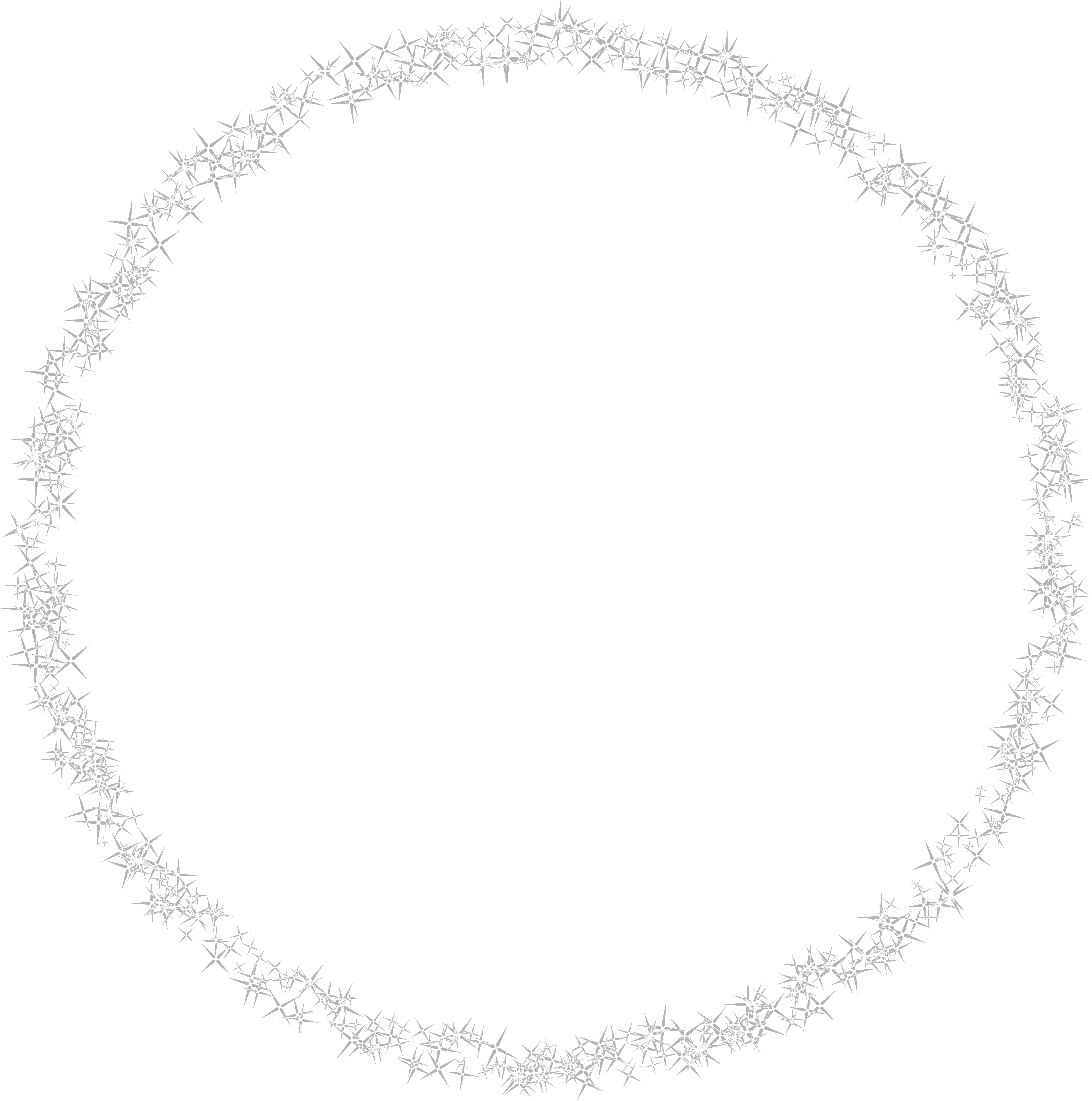 White Round Shape Png