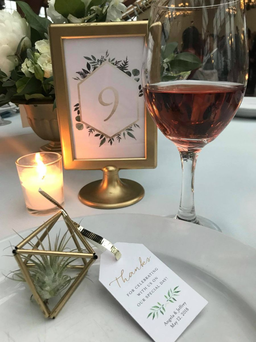Diy Tutorial Gold Wedding Table Number Holder Using Ikea Tolsby Frame Gold Table Numbers Wedding Wedding Table Number Holders Diy Wedding Table