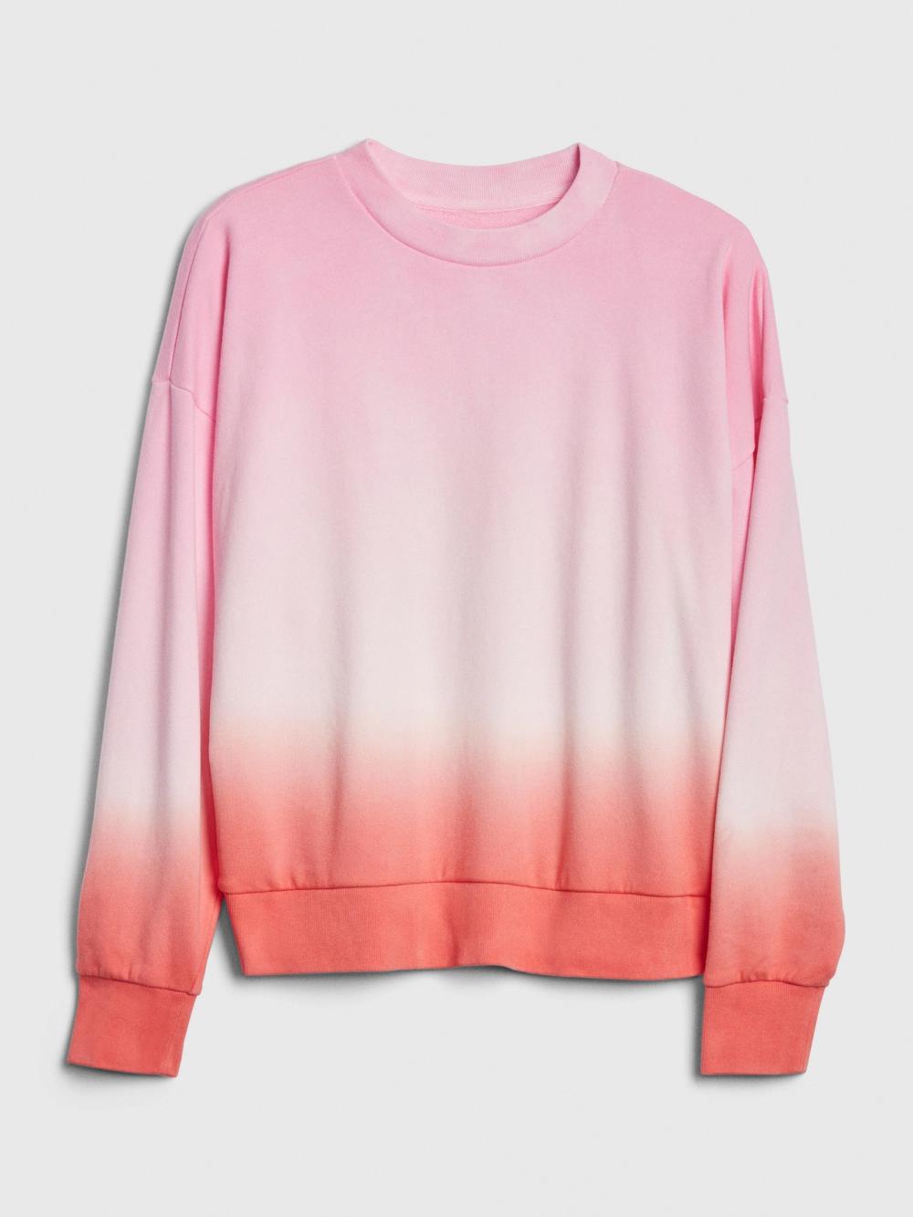 Tie Dye Cropped Sweatshirt In French Terry In 2020 Crop Sweatshirt Tie Dye Sweatshirts [ 1333 x 1000 Pixel ]