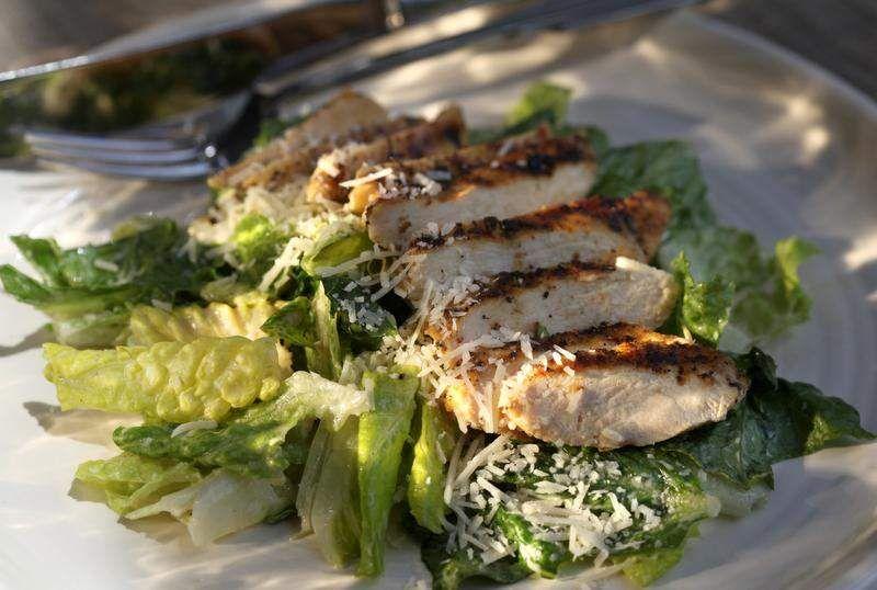 Revamped Chicken Caesar Salad drops calories, keeps flavor